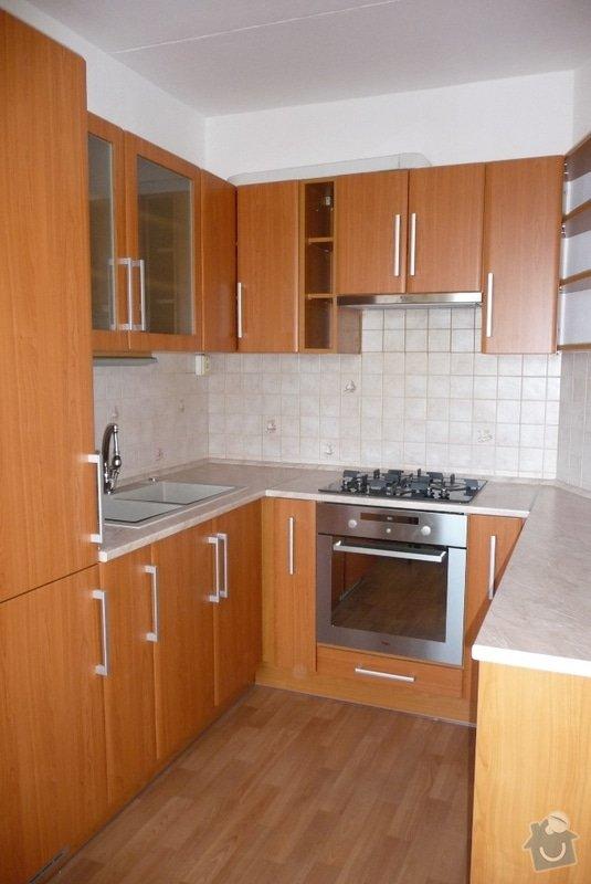 Stavební úpravy pro osazení kuchyňské linky studia MANHALTER : P1130184