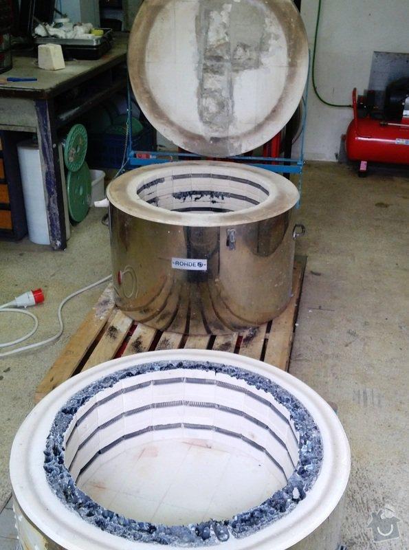 Oprava elektrické pece: 1