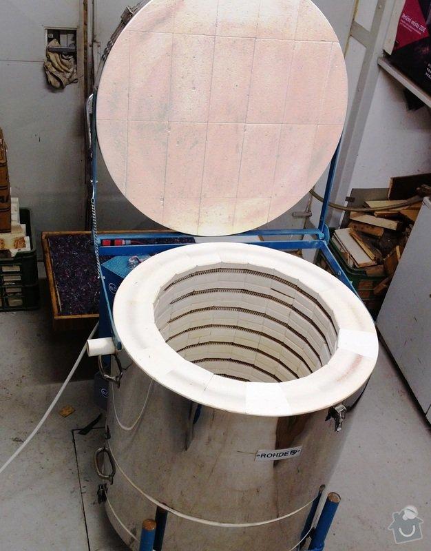 Oprava elektrické pece: 2