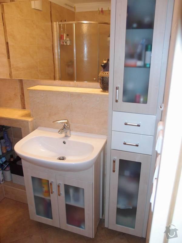 Obklady + podlahy v koupelnách, WC, kuchyni, omítky, vyzdění: koupelna5m