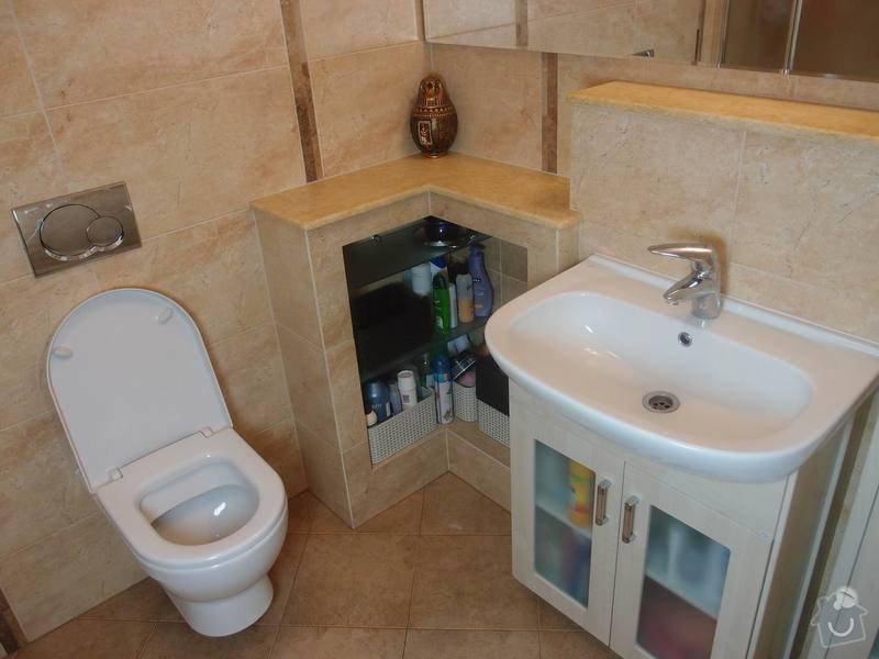 Obklady + podlahy v koupelnách, WC, kuchyni, omítky, vyzdění: koupelna4m