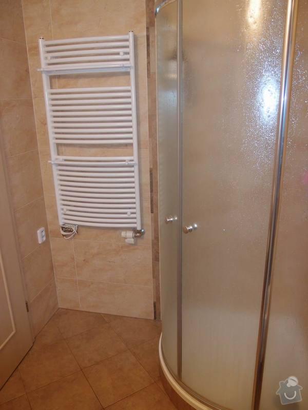Obklady + podlahy v koupelnách, WC, kuchyni, omítky, vyzdění: koupelna2m