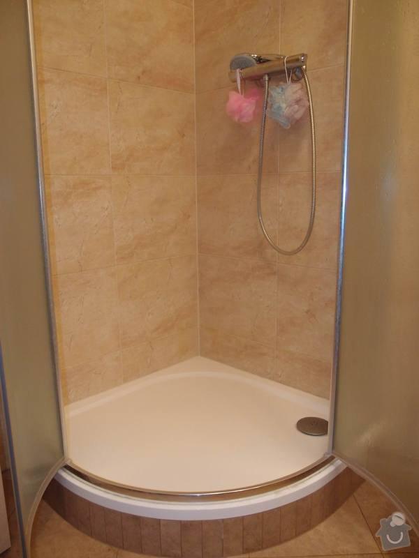 Obklady + podlahy v koupelnách, WC, kuchyni, omítky, vyzdění: sprchac_m