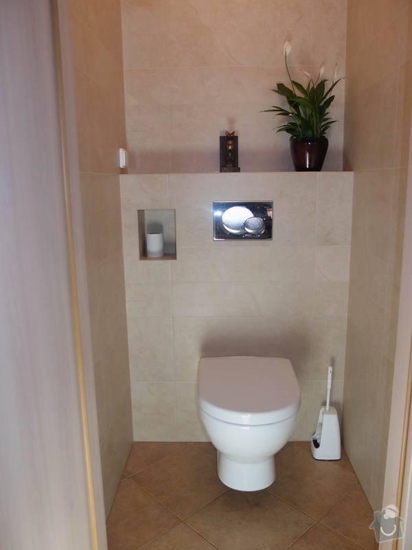 Obklady + podlahy v koupelnách, WC, kuchyni, omítky, vyzdění: WC3_m