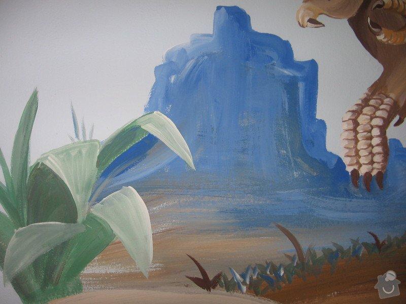 Výmalba rodinného domu + 4 nástěnné malby: IMG_0147