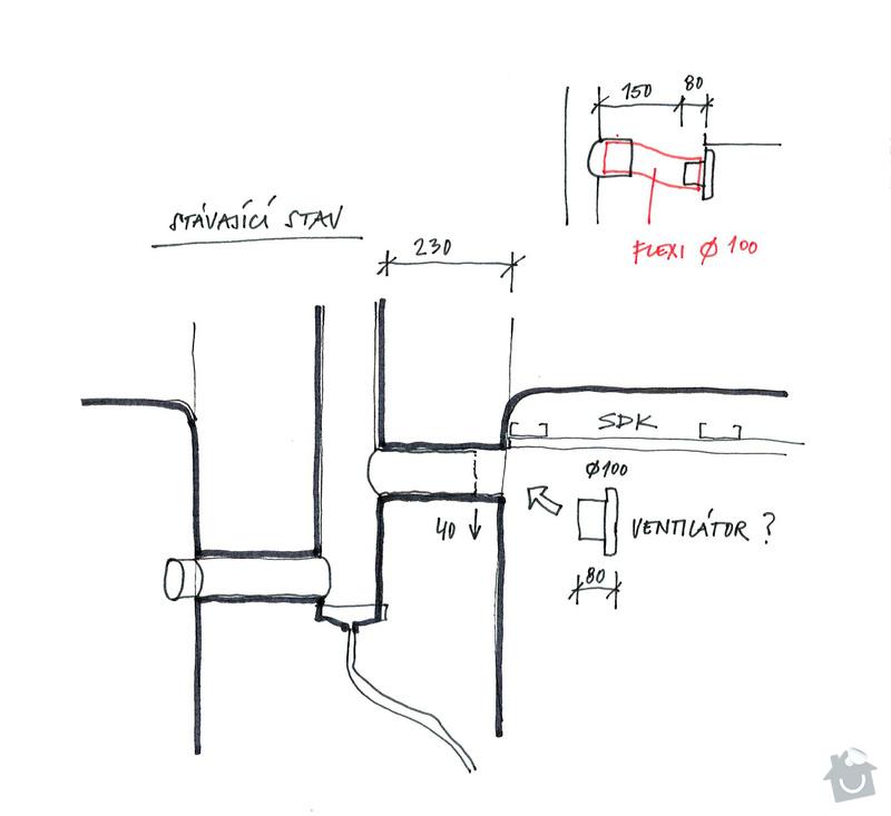 Zapojení ventilátoru v koupelně: 20121212_skica
