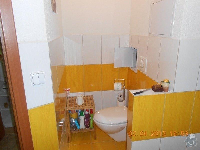 Rekonstrukce bytového jádra,chodby a další časti bytu.: fotky_prace_2013_174