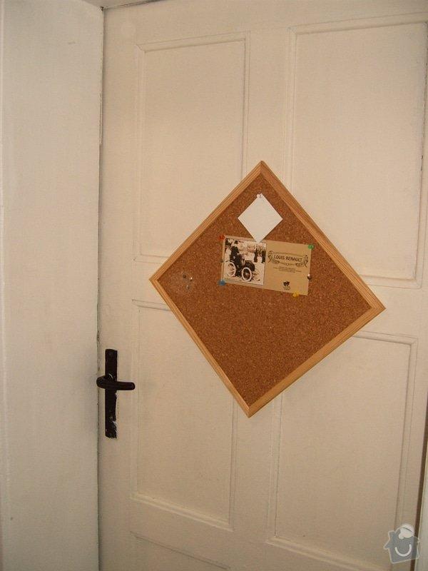 Odhlučnění místnosti  úpravou dveří: S3705796