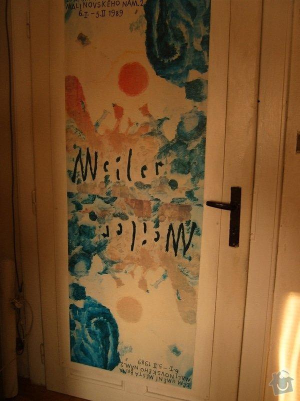 Odhlučnění místnosti  úpravou dveří: S3705797