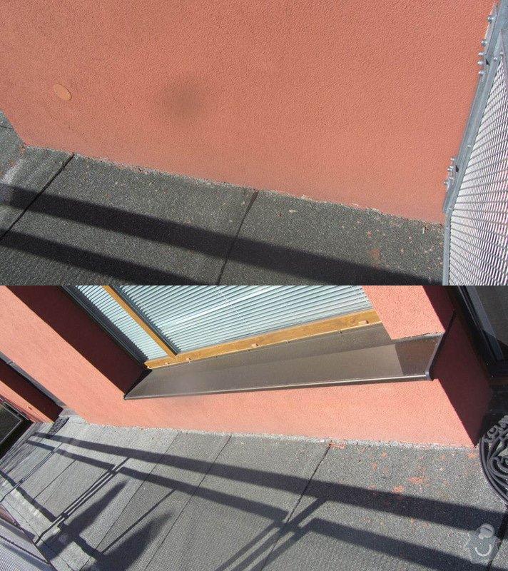 Rekonstrukce ploché střechy - terasy: zakoncenikezdi