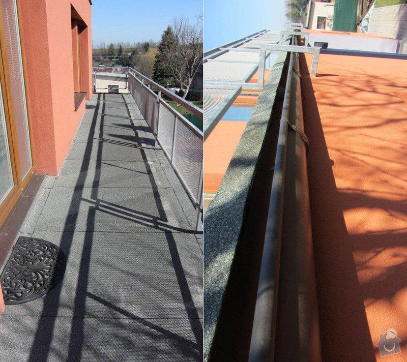 Rekonstrukce ploché střechy - terasy: vrsek_hrana