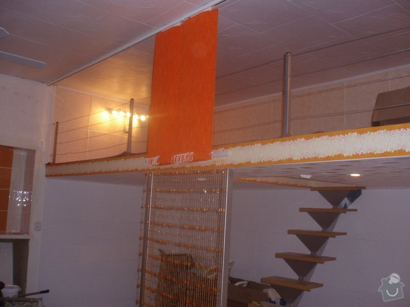 Patro na spaní, schody,osvětlení,zábradlí,podlaha.: kopecka56