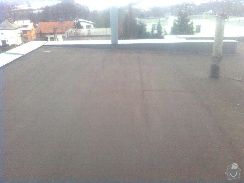 izolace rovné střechy 170m2 : Obraz0466