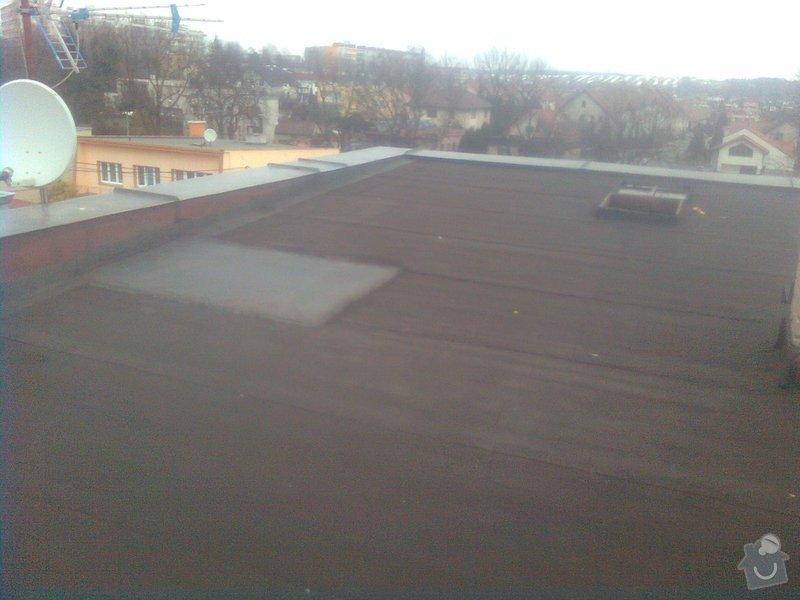 izolace rovné střechy 170m2 : Obraz0468