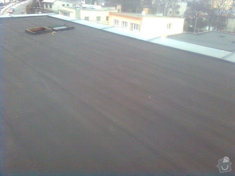 izolace rovné střechy 170m2 : Obraz0470