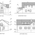 Pristavba a nastavba domu pohledy