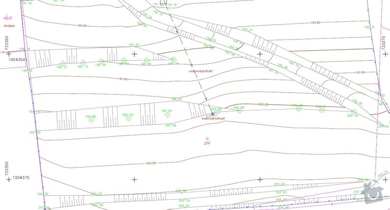 Geodetické zaměření: vykres