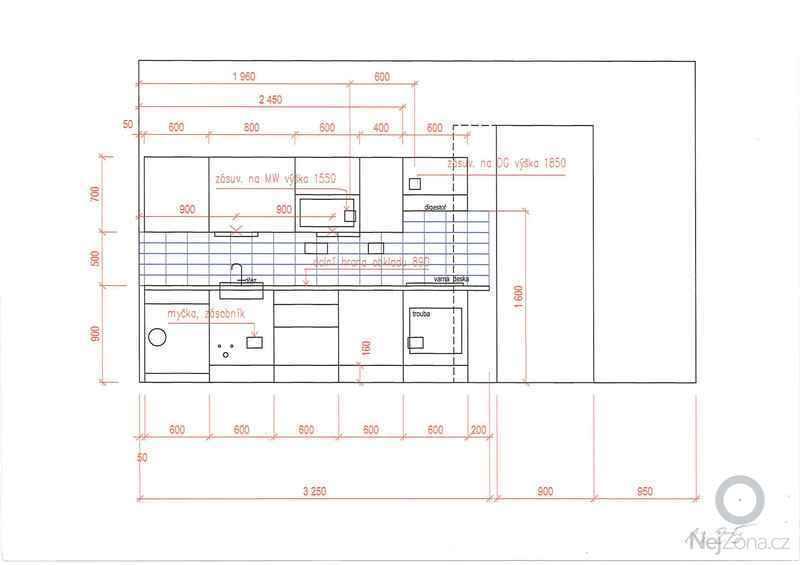 Kuchyňský nábytek (linku) včetně montáže: 20130416162607886_0001