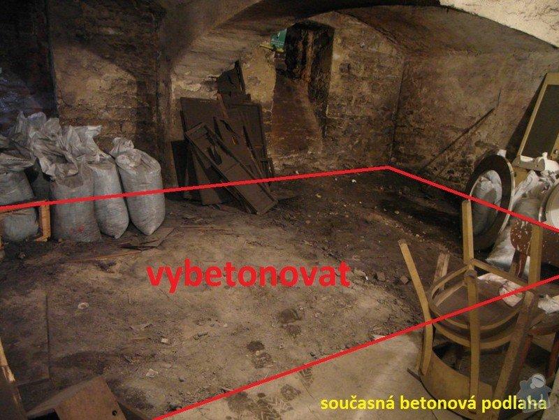 Betonování podlah: 1