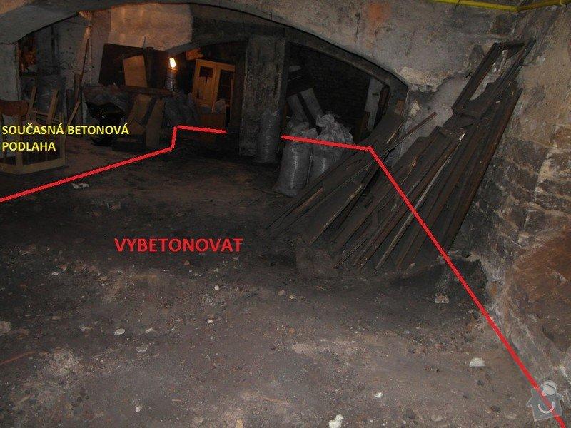 Betonování podlah: 2