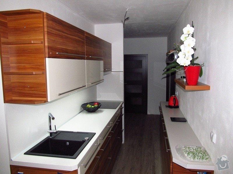 Rekonstrukce bytového jádra, kuchyně, předsíně, obývacího pokoje v panelovém domě (3+1): 4