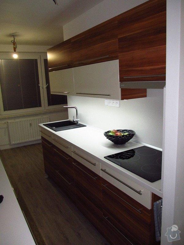 Rekonstrukce bytového jádra, kuchyně, předsíně, obývacího pokoje v panelovém domě (3+1): 6