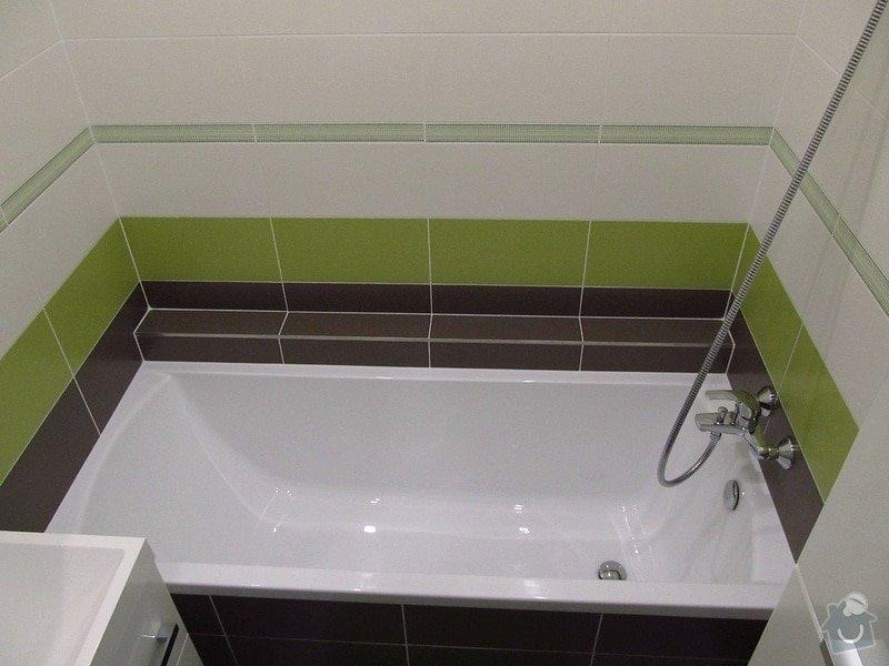 Rekonstrukce bytového jádra, kuchyně, předsíně, obývacího pokoje v panelovém domě (3+1): 8