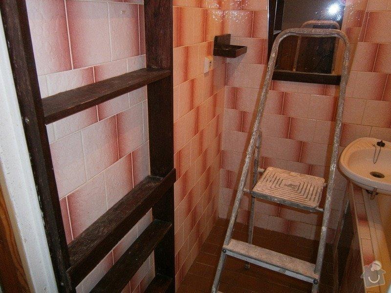 Rekonstrukce bytového jádra, kuchyně, předsíně, obývacího pokoje v panelovém domě (3+1): 11
