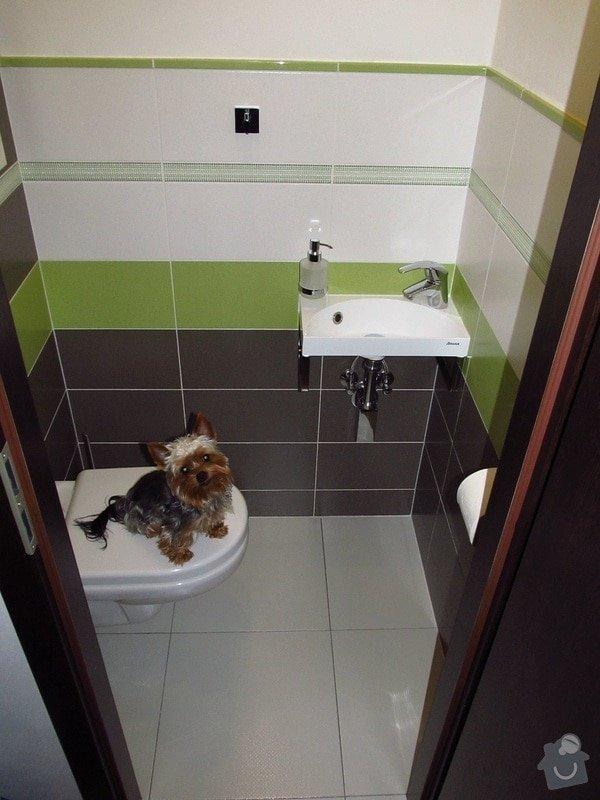 Rekonstrukce bytového jádra, kuchyně, předsíně, obývacího pokoje v panelovém domě (3+1): 15