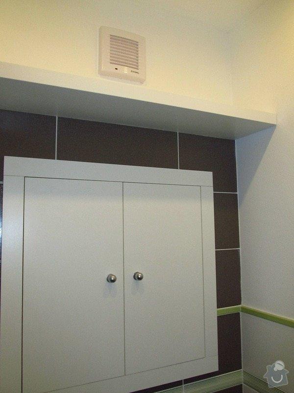 Rekonstrukce bytového jádra, kuchyně, předsíně, obývacího pokoje v panelovém domě (3+1): 17