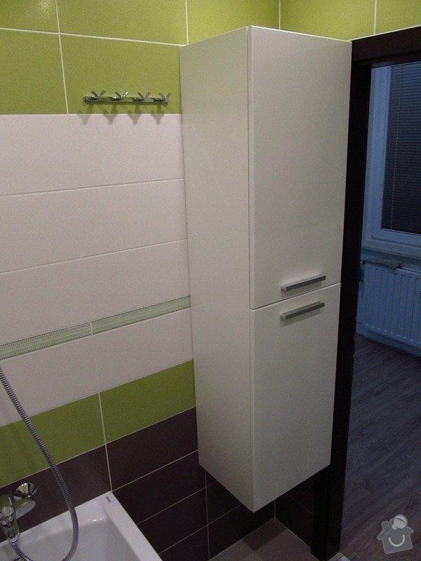 Rekonstrukce bytového jádra, kuchyně, předsíně, obývacího pokoje v panelovém domě (3+1): 20