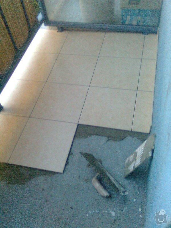 Dlažba na balkon: Fotografie0273