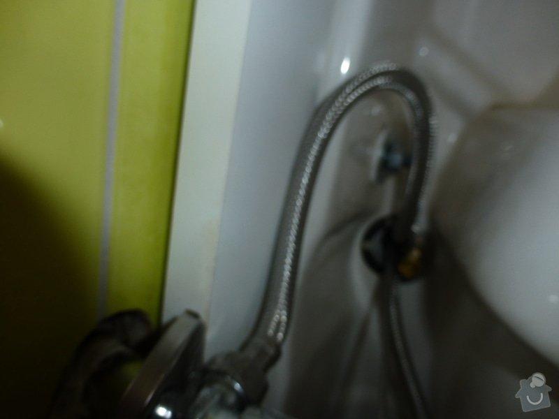 Oprava vodovodní baterie a seřízení 2x geberitu: P1010241