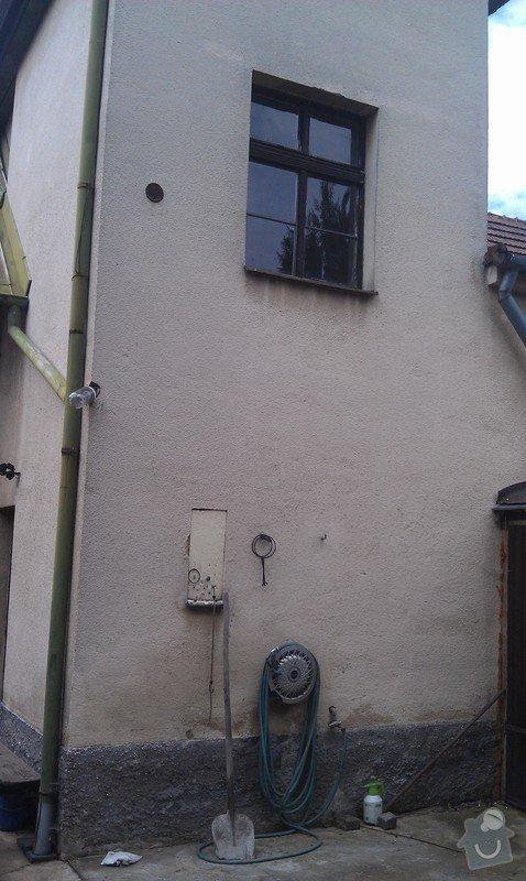 Rekonstrukce fasády, omítky: IMAG0751