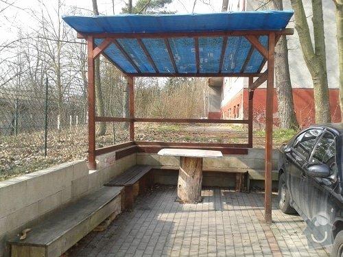 Výroba a montáž dřevěného altánu, 240 x 400 x 240 cm: pergola_predni_pohled