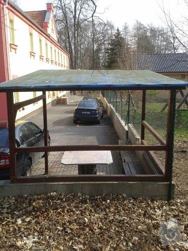 Výroba a montáž dřevěného altánu, 240 x 400 x 240 cm: pergola_zadni_pohled