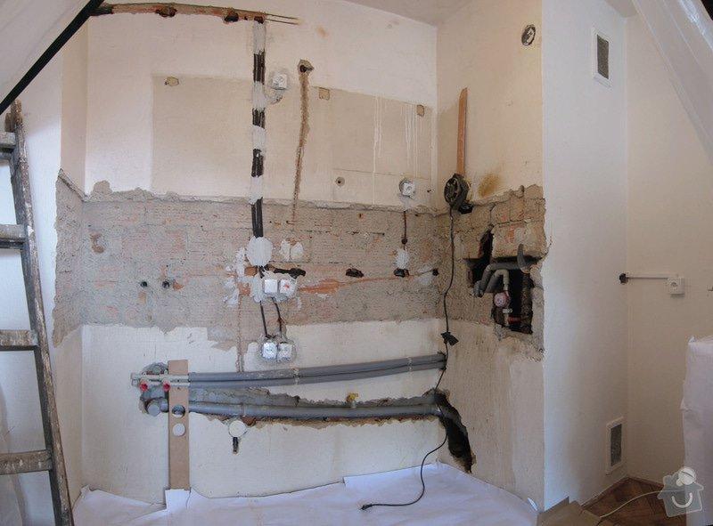 Drobné stavební práce, obklady cca 3m2: 130418_kuchyne_panorama