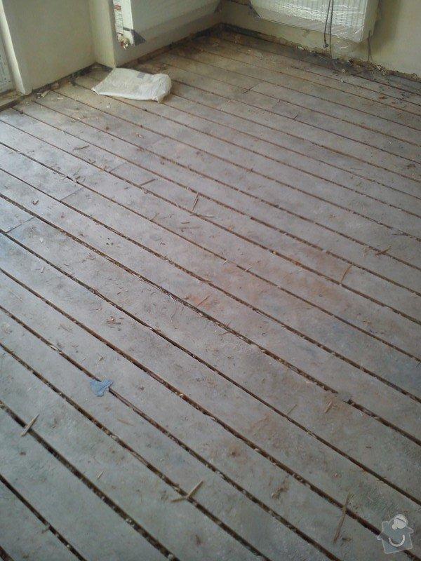 Pokládka podlahy: DSC_0024