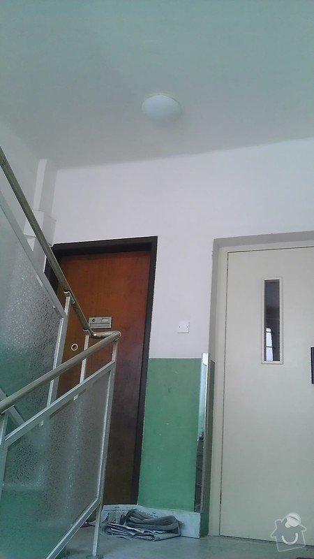 Instalace pohybových čidel a jejich napojení na osvětlení činžovního domu: IMAG1868