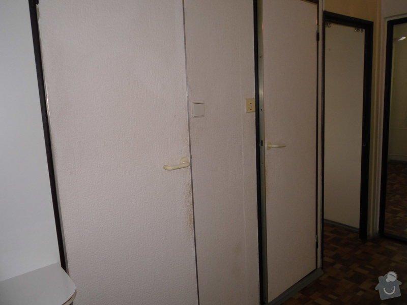 Předělání koupelny a WC z jádra v panelovém bytě: Chodba2