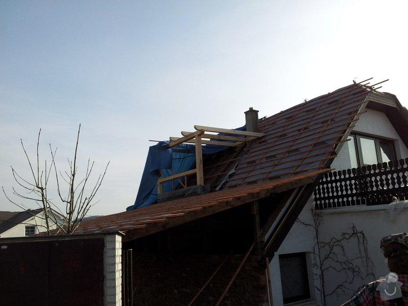 Výměna střechy a vybudování arkýře pro koupelnu: 2012-03-27_16.58.05