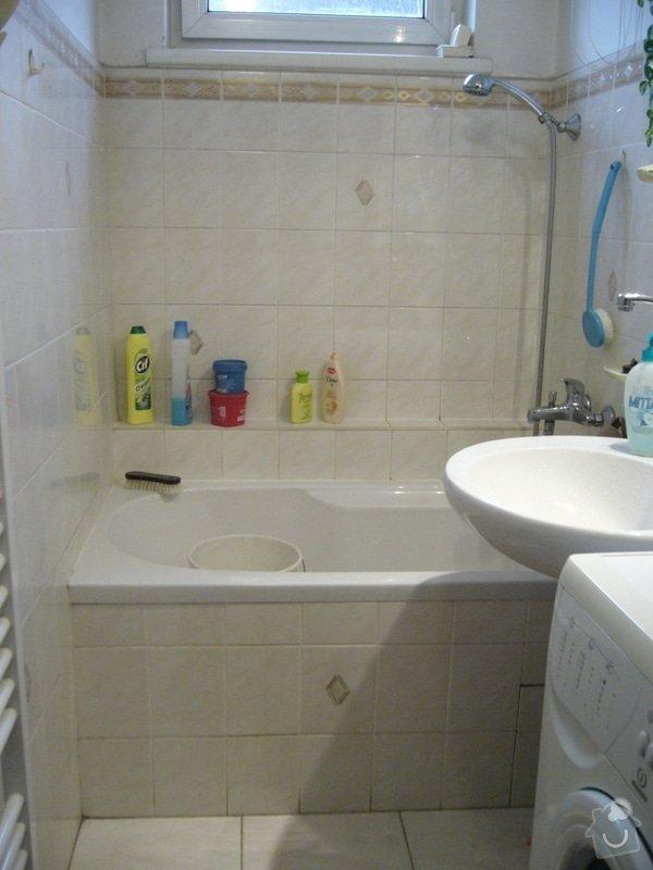 Částečná rekonstrukce koupelny: P1080591