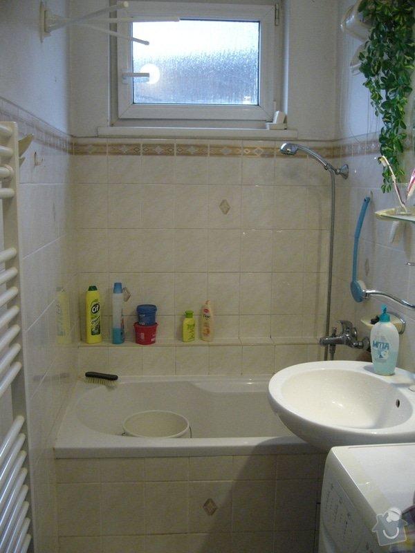 Částečná rekonstrukce koupelny: P1080592