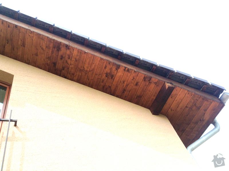 Dokončení střechy proti ptákům: image
