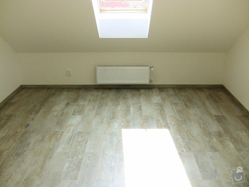 Pokládka vinylové podlahy: 1