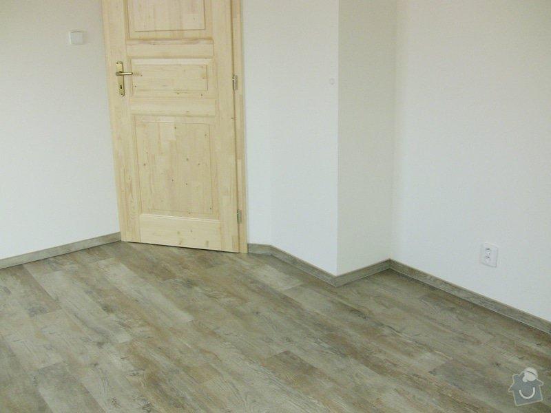 Pokládka vinylové podlahy: 2