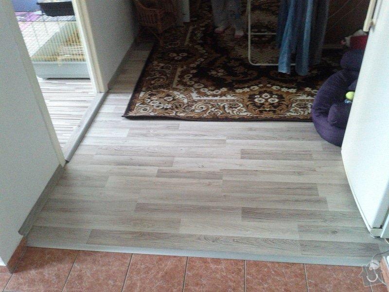 Pokládka plovoucí podlahy: hala