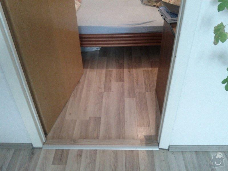 Pokládka plovoucí podlahy: loznice