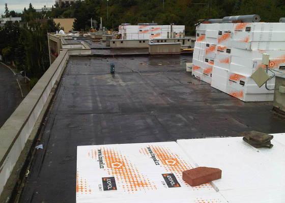 Hydroizolace ploché střechy se zateplením EPS