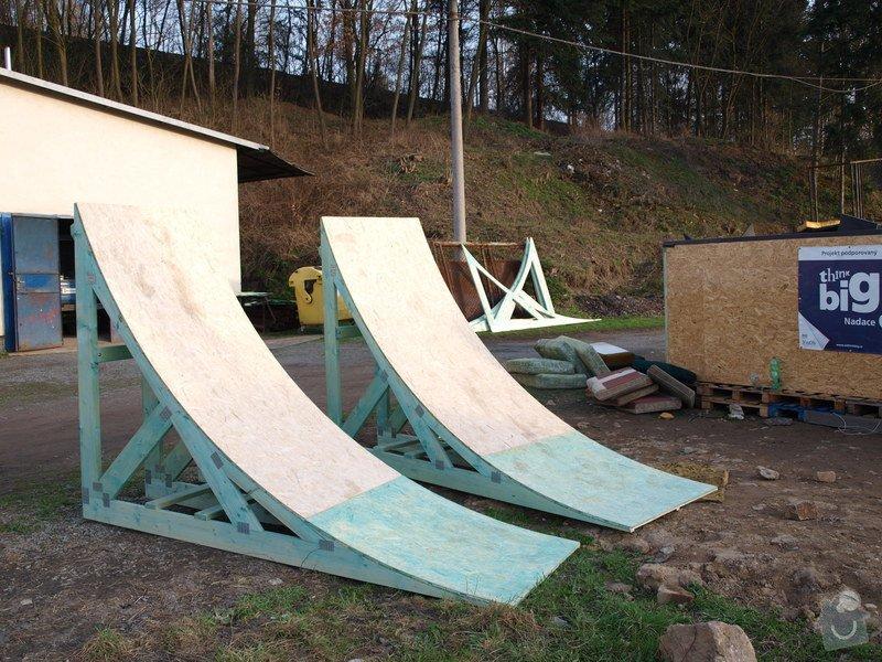 Výroba odrazů do Freeride parku: P4175191